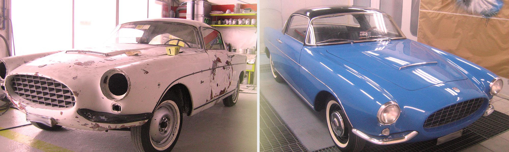 restauro auto epoca bologna